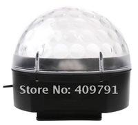Мини привело света rgb кристалл магический шар эффект света dmx 512 контроля pannel диско dj партии этап освещение