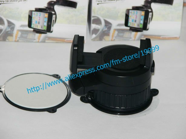 10pcs/lot Small and Smart GPS holder Windshield / Dashboard Holder Car Mount Universal Holder for Mobile Phone. #2001-1