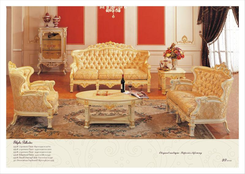 Wohnzimmermobel Vintage : Italienische stilmöbel luxus stil wohnzimmermöbel antike möbel