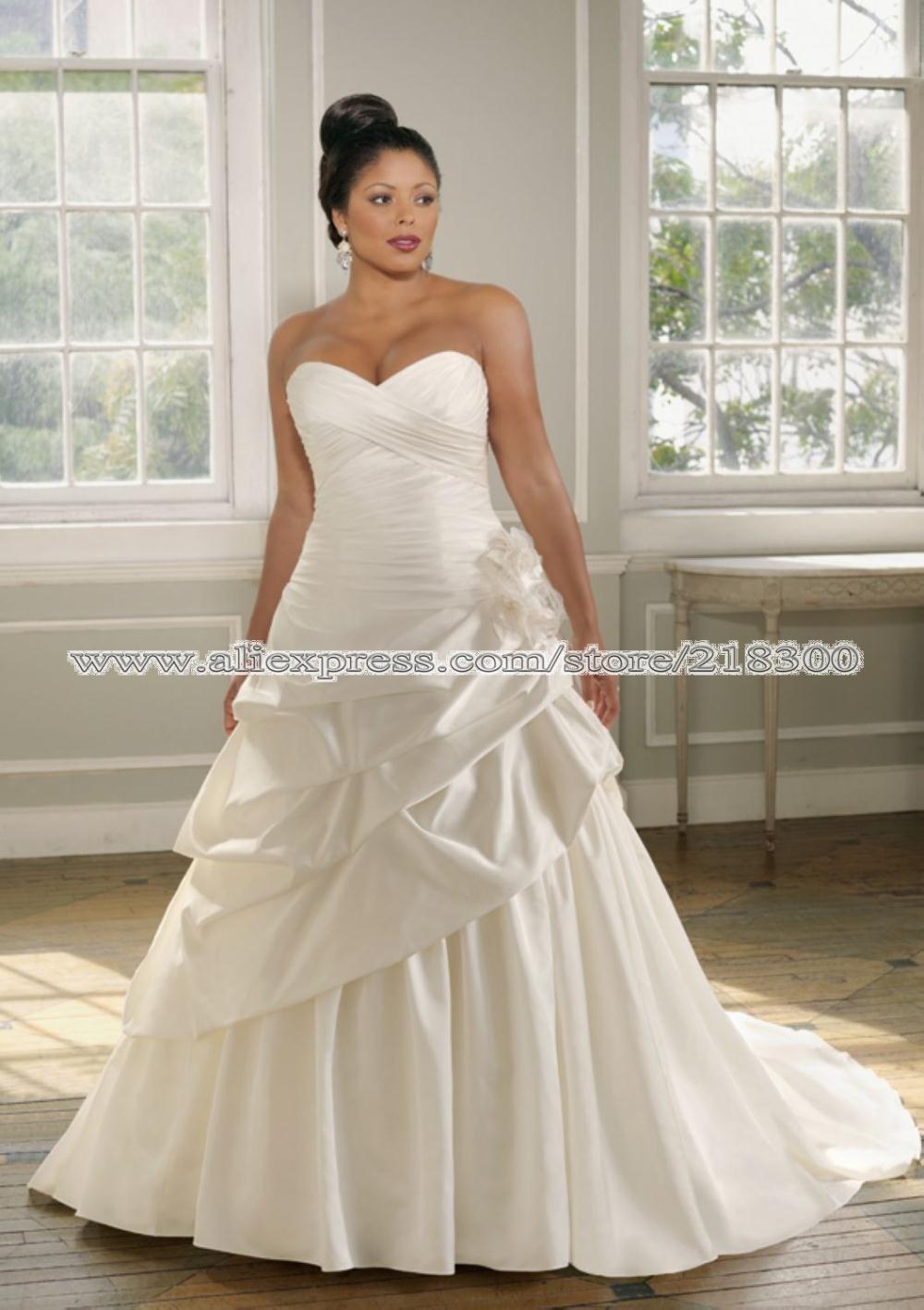 Robes de mariée Pour Rond