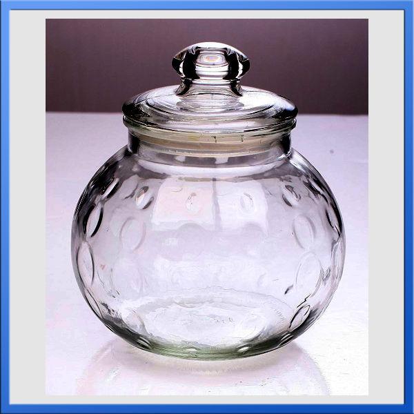 decorative pumpkin shape glass airtight jars with lids. Black Bedroom Furniture Sets. Home Design Ideas