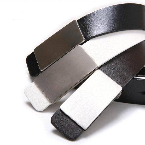 cheap designer belts mens rj4v  men fashion belt waist belts flat buckle design