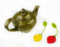 Ситечко- шарик для заваривания чая 10pc/lot full Silicone tea bag strainer infuser dipper filtre tool