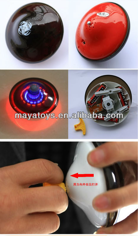Flashing top & Spinning Top & Led Musical Top