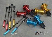Втулка велосипедная QUANDO 32H Hubs 32, DISC brake, Black/White/Red/Golden/Blue, MTB Bicycle Bike hubs