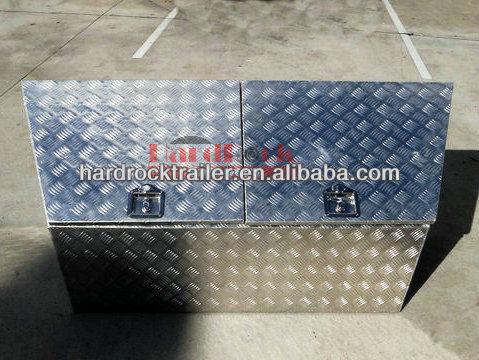 Special aluminium tool box for customer design