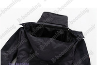HOT!o sale High Quality Men's Outdoor Double Layer 2in1 Waterproof Climbing Skiing Jackets Sportwear