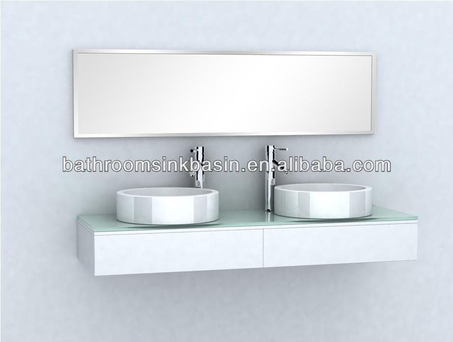Diana badkamer ijdelheid modulaire badkamer ijdelheid enkel wastafel kast klassiek design - Moderne overwinning ...