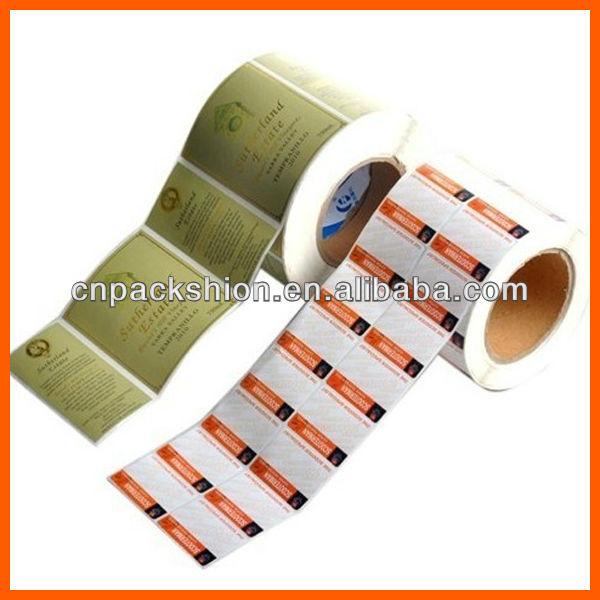 Haute qualit autocollant de papier tiquette pour for Papier autocollant exterieur