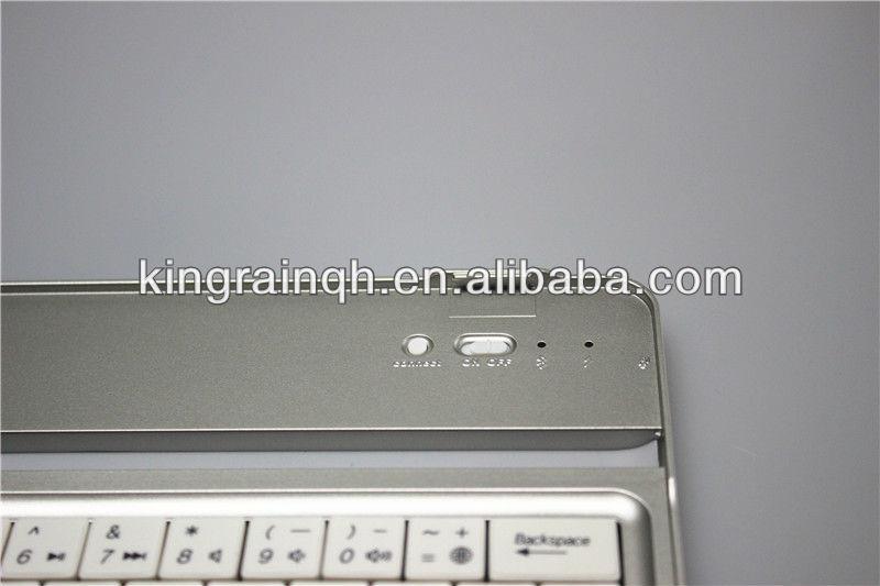 new wireless aluminium bluetooth keyboard for ipad mini 1 & 2
