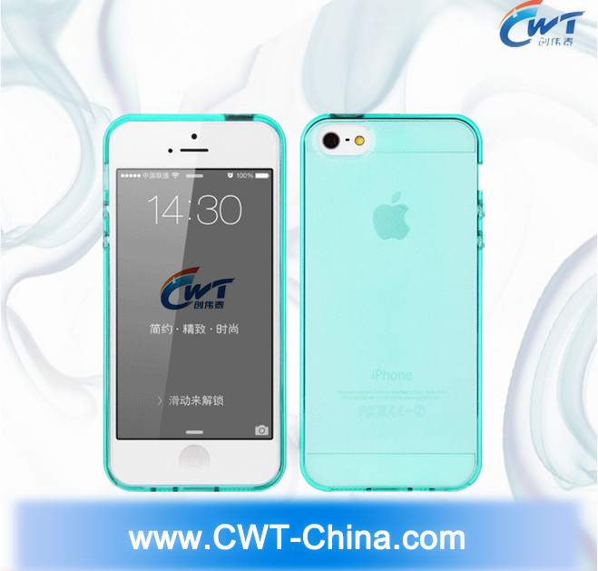 CWT TPU case for iphone 5 case, for iphone 5 case