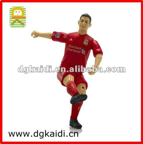 Official Football Action Figure with moveable leg and arm