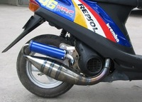 Performance Exhaust for  50cc DIO 50 HOND A