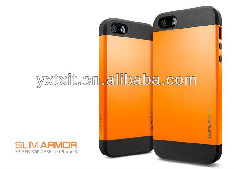 NEW SLIM ARMOR SPIGEN SGP Case for iPhone 5 Multicolour Choice