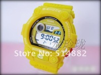 2012 latest fashion sports style watch g 100 delivery with no shock package 5piece/lot