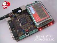 Электронные компоненты Development Board for STM32F107VCT6 +128M Flash + LCD