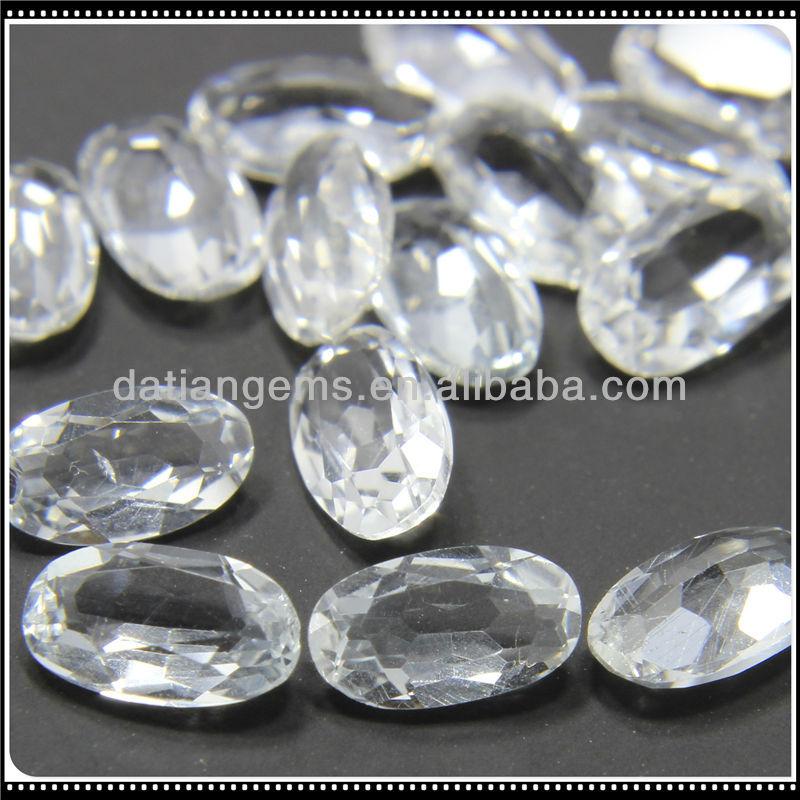 oval cut white topaz price per carat for sale