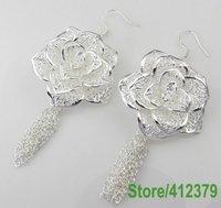 Серьги висячие GY-PE263 925 sterling silver jewelry Clip Drop Hoop Stud Earring flzaod hawupa
