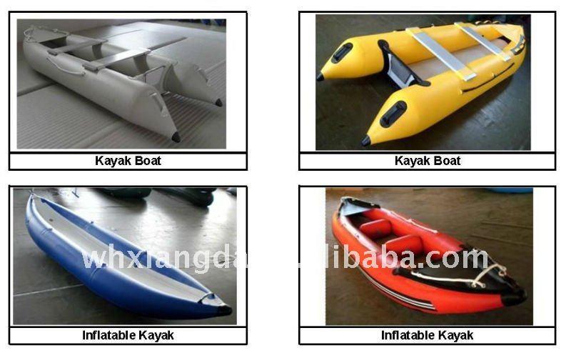 De p che gonflable kayak bateau raft id de produit for Housse pour chaloupe