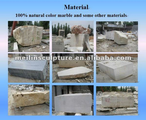 Best selling white marble fireplace