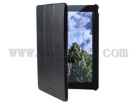 Black Match dock with Stand Sikai leather case for ASUS Eee Pad Transformer Prime TF201