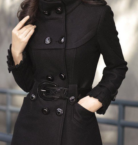Ladies Long Wool Coats