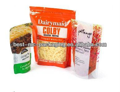 Heat sealing food plastic film for packaging