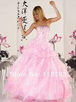 новейшие выпускница бисером камень Трапеция сексуальная королева розовая свадьба невесты платье выпускное платье вечернее платье обычай сделал