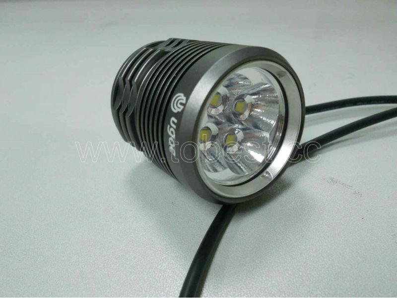 UGOE CREE XML 4XT6 4XL2 3000LM pocket bike light (CE,RoHS,UL-STR)