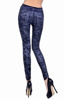 Женские носки и Колготки Women's Fashion sexy Leggings Stretch Skinny Leg Pants Jeggings Cheap price k017