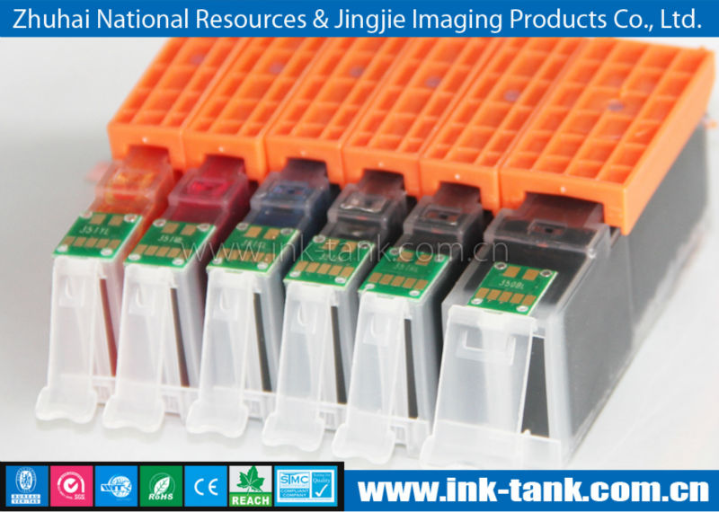 2013 new ink cartridge,compatible canon pgi-750 cli-751 ink cartridge with chip