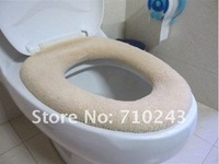 Стикеры для стен Toilet seats Color flocking toilet cover only 0.98 USD/PCS