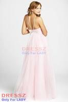 Платье на выпускной Custom Made Top Quality Pleated Bodice Tulle Spaghetti Straps Draped Sleeveless Crystal A Line Graduation Dress