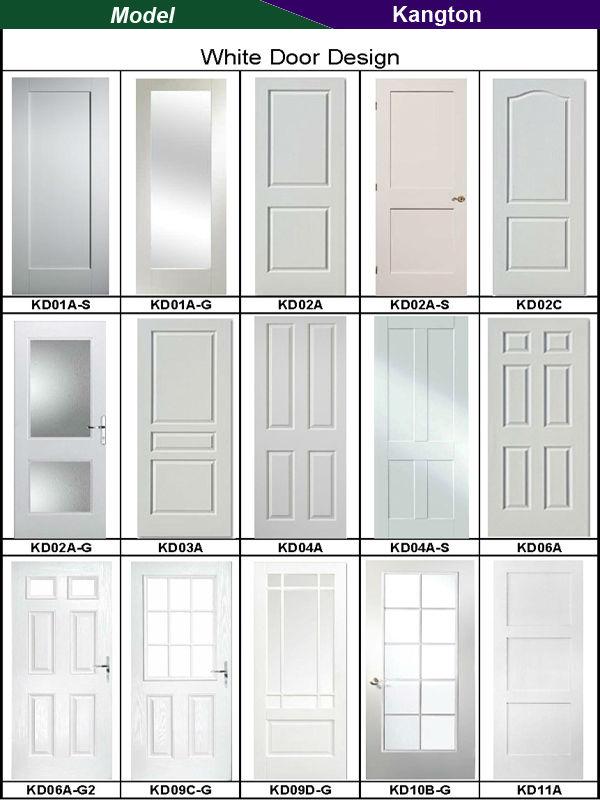 Holztüren weiß  neues design holztür weiß lack tür-Tür-Produkt ID:1688368418 ...