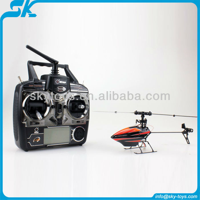 Comming 2013 Newest Single Blade RC Helicopter 6CH with Gyro.(Mini Size)