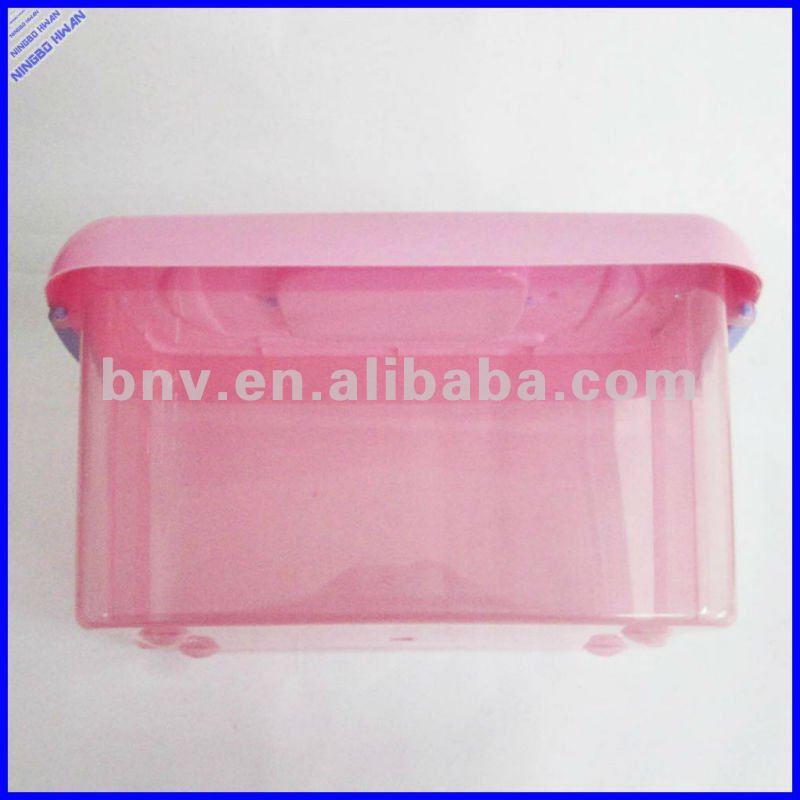 Pas cher en plastique bo tes de rangement avec poign e - Boites de rangement plastique pas cher ...