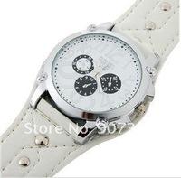 Наручные часы Fashion Leather Strap Men Boys' Watch big quadrate dial wrist watch