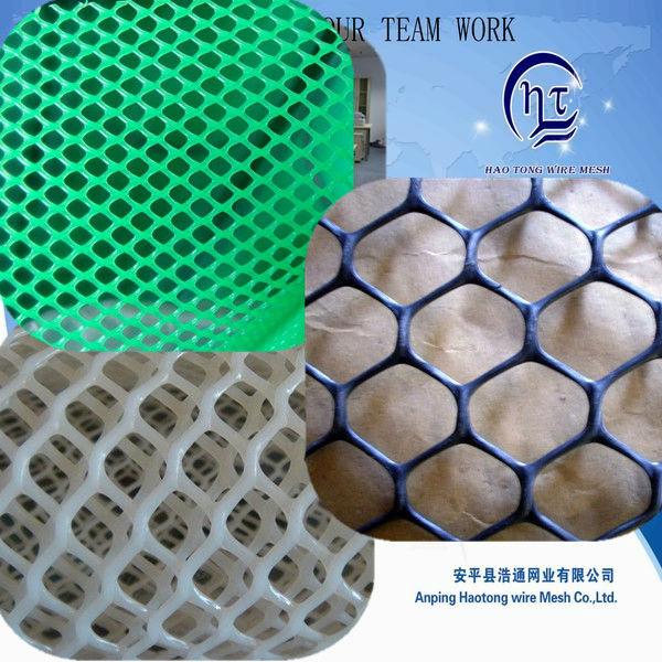 pp flat plastic mesh sheets