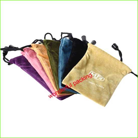 velvet mobile phone bags