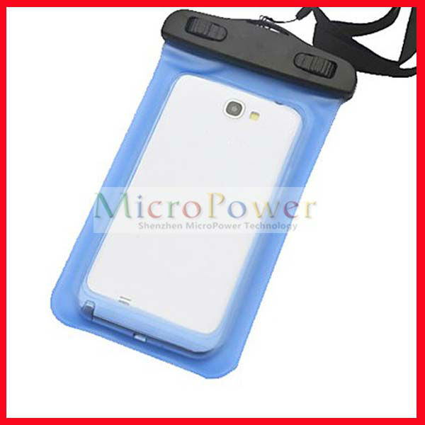 Waterproof Plastic Bag Without Armband for iPhone 5(Assorted Color)