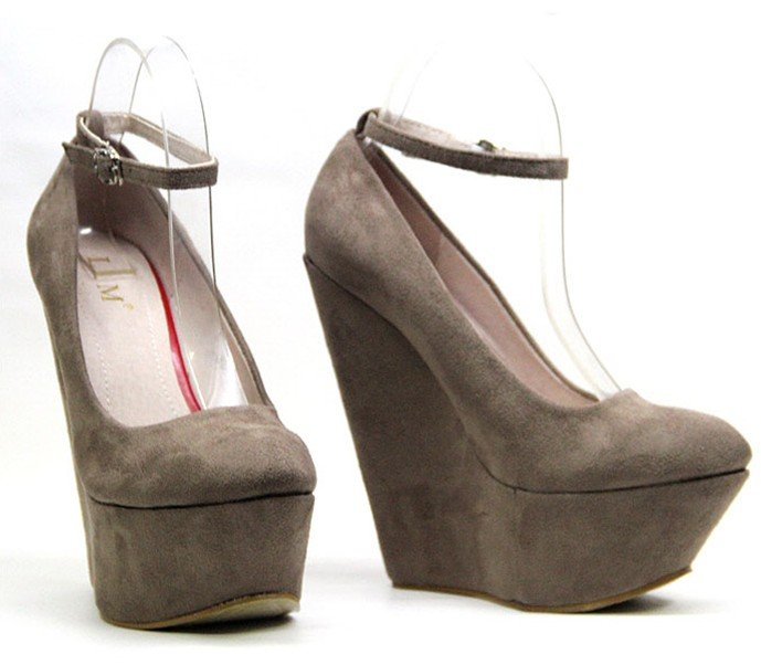 Euramerican super star faves,2012 Vogue shoes,woman wedges high heeled shoes,platform pumps,lady's suede shoes,naked boots