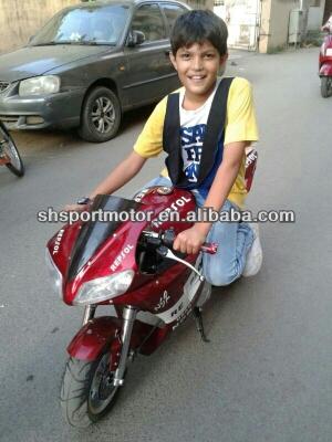 110cc Kids Pocket Bike Mini Motorcycles with E-start