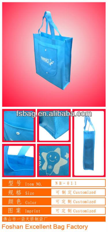 foldable shopping bag non woven