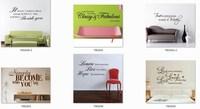 Стикеры для стен Brand New 120 45x60cm 5  Mix quotes