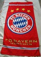 Товары для занятий футболом liverpool fc red cotton bath towel / football fans bathroom products