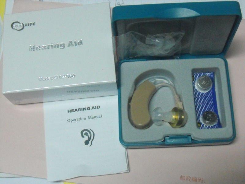 Amplificateur de son aide auditive derrière l'oreille aides auditives prix avec batterie