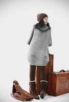 2013 new winter women's fashion long sweater
