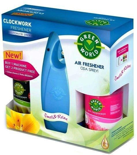 Automatic air freshener Set Machine 2 + 1 Air Freshener Refills