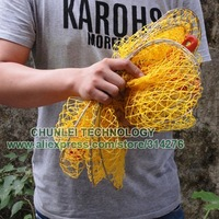 Рыболовная сеть New Fish Tackle Gear Tool Fishing Nets Durable Foldable Lobster Crab Trap Fishing Net Cast
