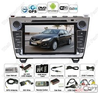 Android car PC built-in gps\TV\RDS\free shipping for MAZDA 6(2008-2011)